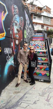 Medellin City Services: Entering grafiti area