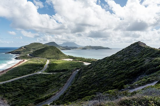 Welcome Tours St. Kitts and Nevis: One of the views we got to see with Beulah!