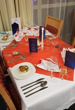 Spa Resort Sanssouci : Heiligabend-Menü