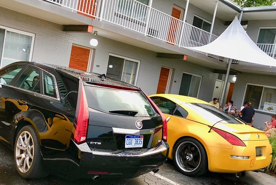Hotel Royal Oak : Dream cruise brings us great times and cool cars!