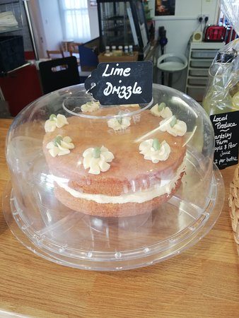 Homemade Drizzle cake!