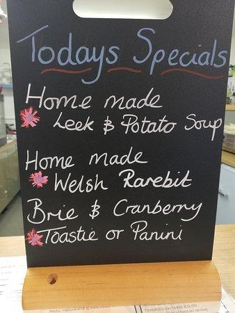 Our Homemade specials!
