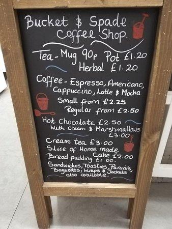 Bucket & Spade Coffee Shop