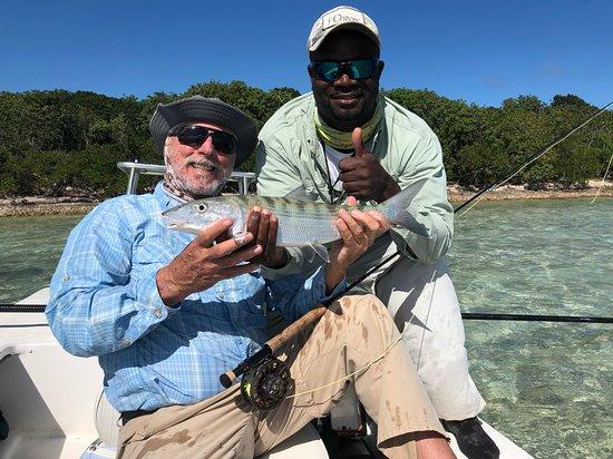 Bahamas : Happy customer!