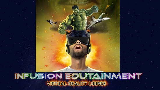 ‪Virtual Reality Lounge Infusion Edutainment‬