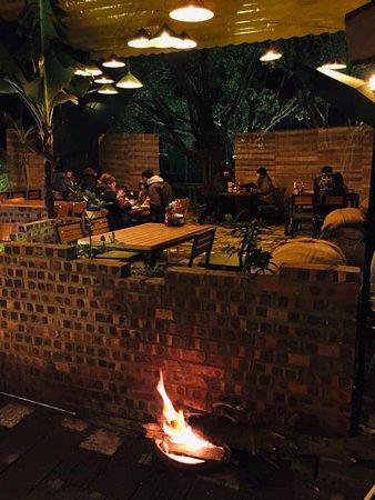 Old Vienam restaurant and pub in Tam Coc, Ninh Binh, Vietnam.