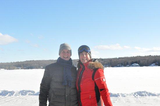 Buckhorn, Kanada: Sunny and snowy!