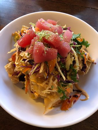 Fairlee, VT: Tuna nachos