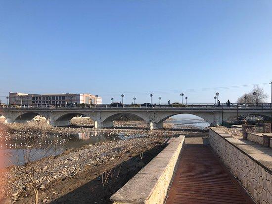 Tonekabon, איראן: bridge far view 