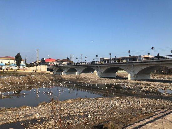 Tonekabon, Iran: bridge upstream