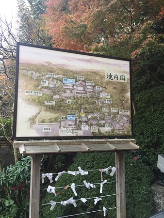 Hase-dera Temple: Map