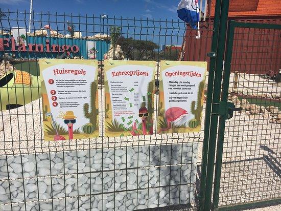 Flamingo Adventure Golf: Ingang en openingstijden