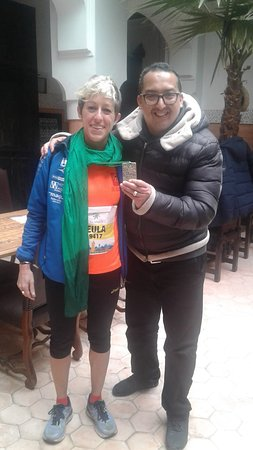 Our residents in Riad Jnan El Cadi of Italy participated in the 2019 Marrakesh International Marathon :) Bravo!