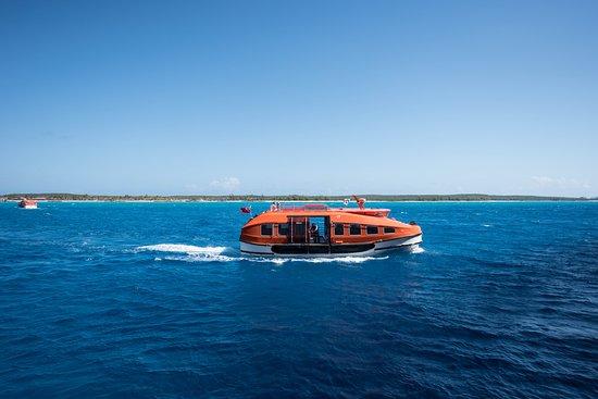 Tender Boat on the Regal Princess
