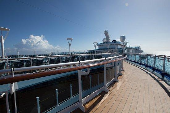 Sun deck on Regal Princess
