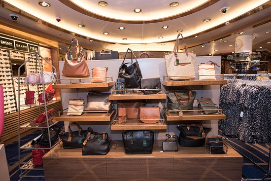 Shops on the Regal Princess