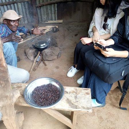 The Bigg Max Cultural Tours : Babu coffee process day trip coffee tour