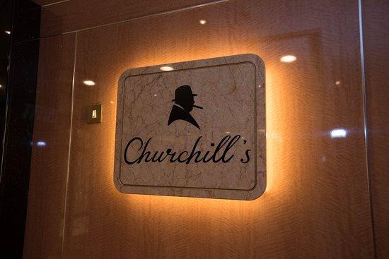 Churchill's on Regal Princess