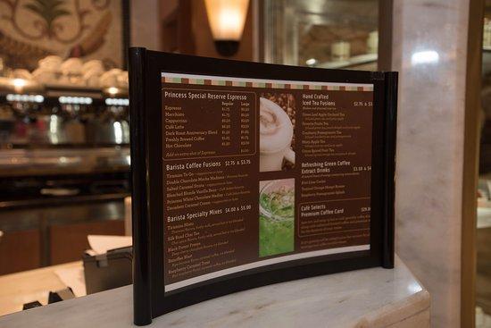 Regal Princess: International Cafe on Regal Princess