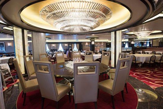 Allegro Dining Room On Regal Princess, Allegro Dining Room Furniture