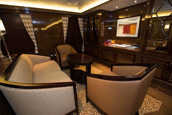 Concierge Lounge on the Regal Princess