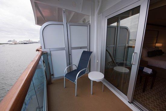 Deluxe Balcony Cabin on Regal Princess