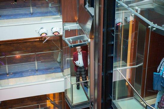 Elevators on Celebrity Eclipse