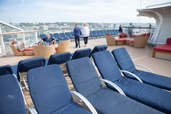 The Solstice Deck on Celebrity Eclipse