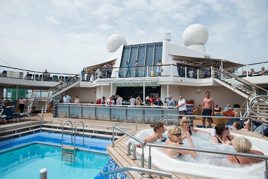The Hot Tubs on Celebrity Eclipse