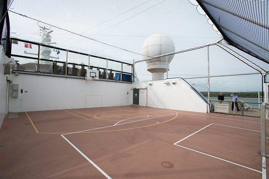Basketball Court on Celebrity Eclipse