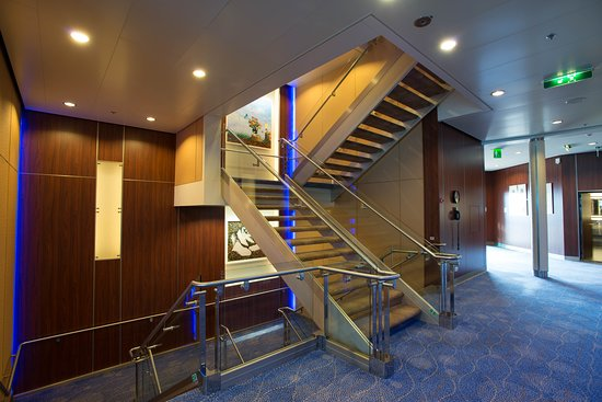 Stairs on Celebrity Eclipse