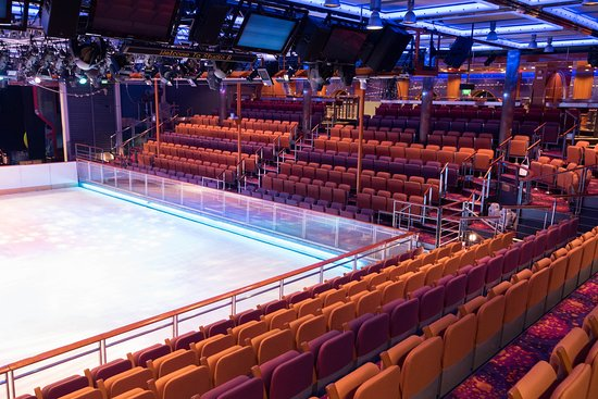Ice Skating Rink on Freedom of the Seas