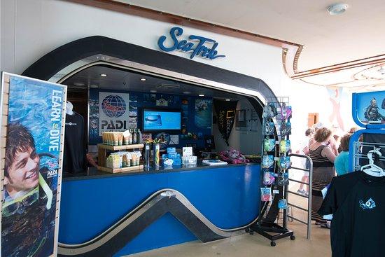 SeaTrek Dive Shop on Freedom of the Seas