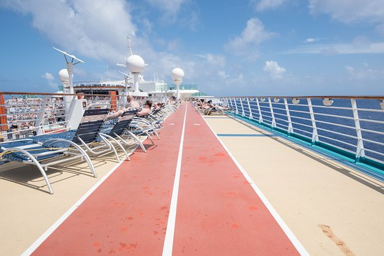 Jogging Track on Freedom of the Seas