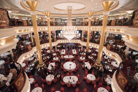 Freedom of the Seas: Leonardo's Dining Room on Freedom of the Seas