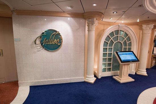 Galileo's Dining Room on Freedom of the Seas