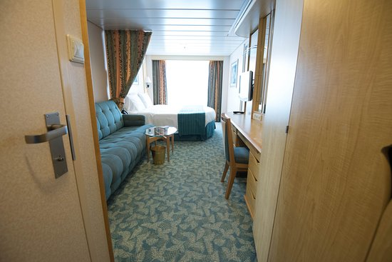The Superior Oceanview with Balcony on Freedom of the Seas