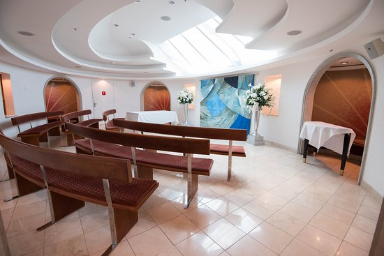 Skylight Chapel on Freedom of the Seas
