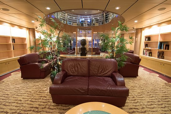 Library on Freedom of the Seas