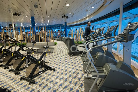 Vitality Fitness Center on Freedom of the Seas