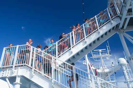 The Carnival WaterWorks on Carnival Breeze