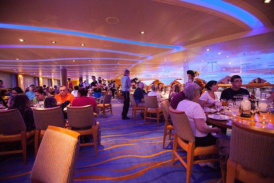 Sapphire Restaurant on Carnival Breeze