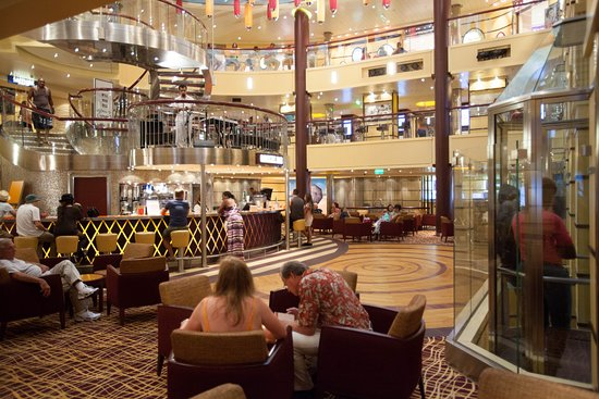 Atrium on Carnival Breeze