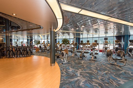 Fitness Center on Noordam