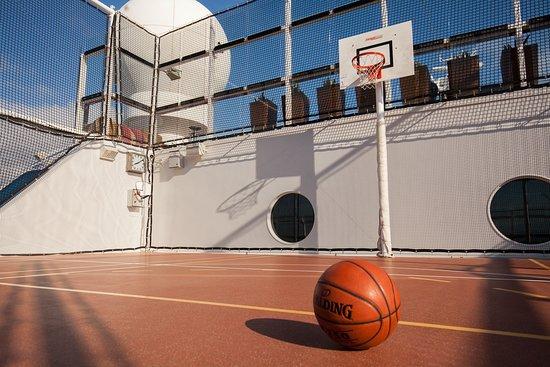 Basketball Court on Celebrity Reflection