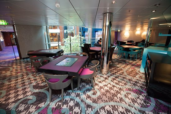 Game On Card Room on Celebrity Reflection