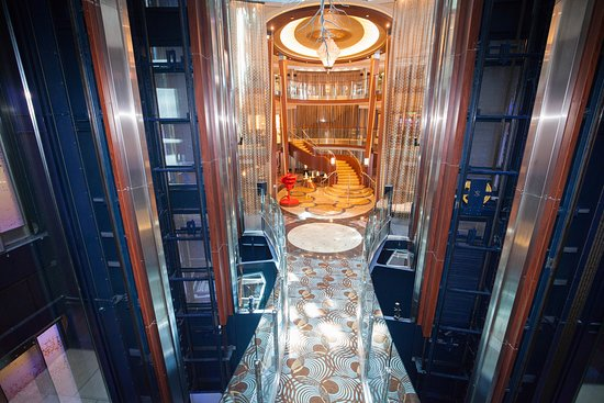 Grand Foyer on Celebrity Reflection