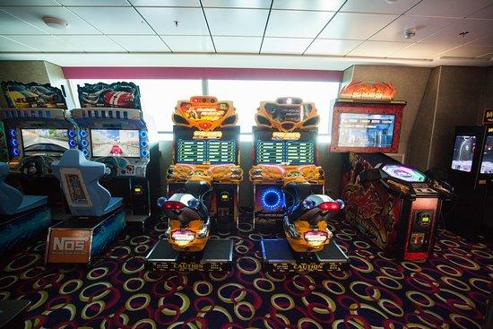 Video Arcade on Celebrity Reflection