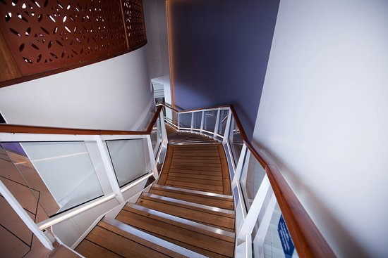 Stairs on Celebrity Reflection