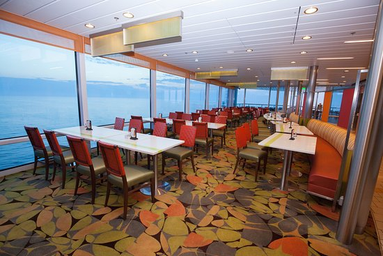 Oceanview Cafe on Celebrity Reflection